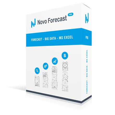 Novo Forecast - прогноз в Excel - точно, легко и быстро!